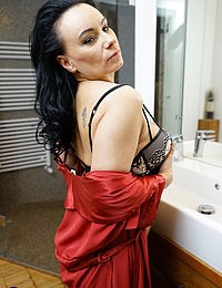 Naughty Milf taking a shower and wants you to soap her in