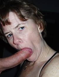 Mature lady gets fucked by young guy