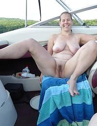 Sexy mature cougar MILF enjoys sex with boy