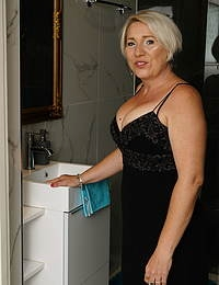 Naughty housewife doing her horny toy boy