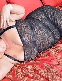 Naughty British housewife loves teasing before pleasing