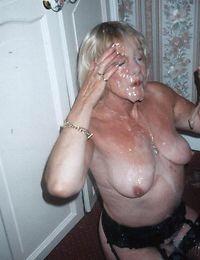 Granny sucks long shlong and gets banged