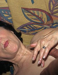 Granny Talking About Her First Creampie