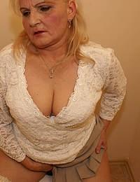 Granny love the mature gloryhole