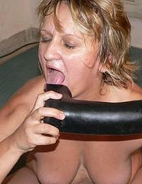 if a real dick isnamp039t here she also loves the rubber ones