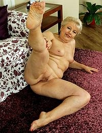 Huge tits Granny is back for more BBC