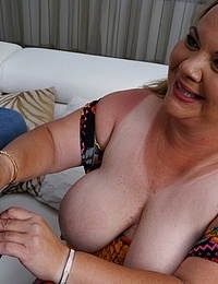 Naughty BBW Summer fooling around with her toyboy