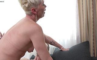 Sexy Milf enjoys her studs big cock