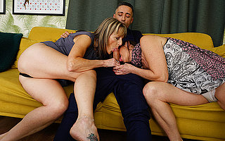 Sizzling British housewife takes it up the ass near hot trinity in all directions will not hear of girlfriend and their stud