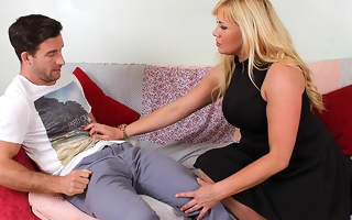 British housewife fucking and sucking her botheration off