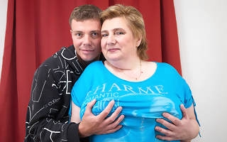 Huge breasted BBW obtaining fucked by her toy boy