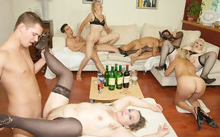 A special and kinky mature sexparty