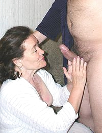 Granny wants her pussy stuffed with BBC