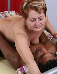 Chubby housewife craving a big black cock