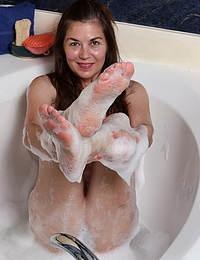 Olivia Johnson Scrubbing Up