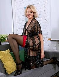 Diana V See Thru Lingerie
