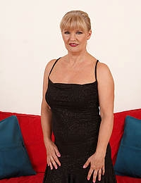 Beautiful and elegant Lena F shows off her great 57 year old body