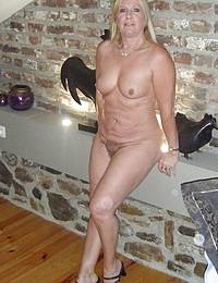 Mature With Big Natural Tits And Pirced Nipples