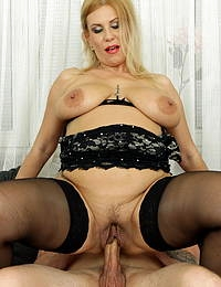 Milf Patricia Sweet is ready for a hard cock