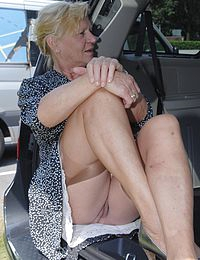 70 yo granny loses a bet and gets double dicked