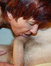 sucking the cock and loving it
